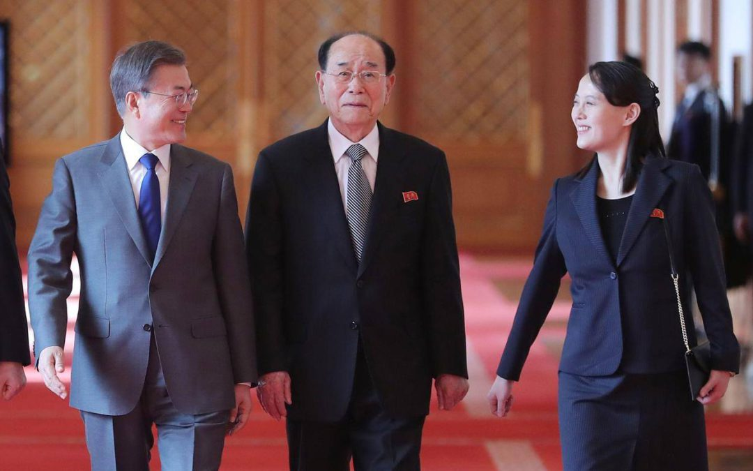Winter Olympic Games: true rapprochement  between North and South Korea or announcement of a future confrontation ?